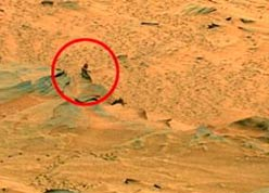 Man seen on Mars